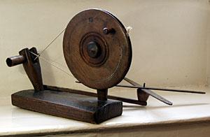 A bobbin winder
