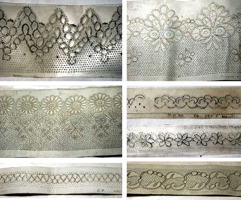 Examples of lace
