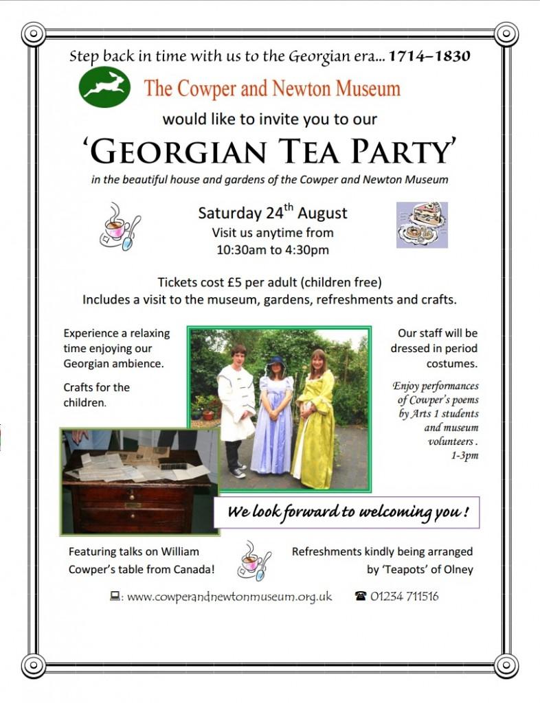 Georgian Tea Party