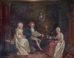 Cowper in his Parlour