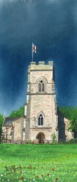 Emberton Church by David Purvis