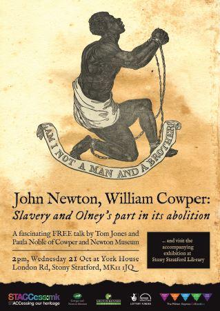 Slavery talk poster snippet